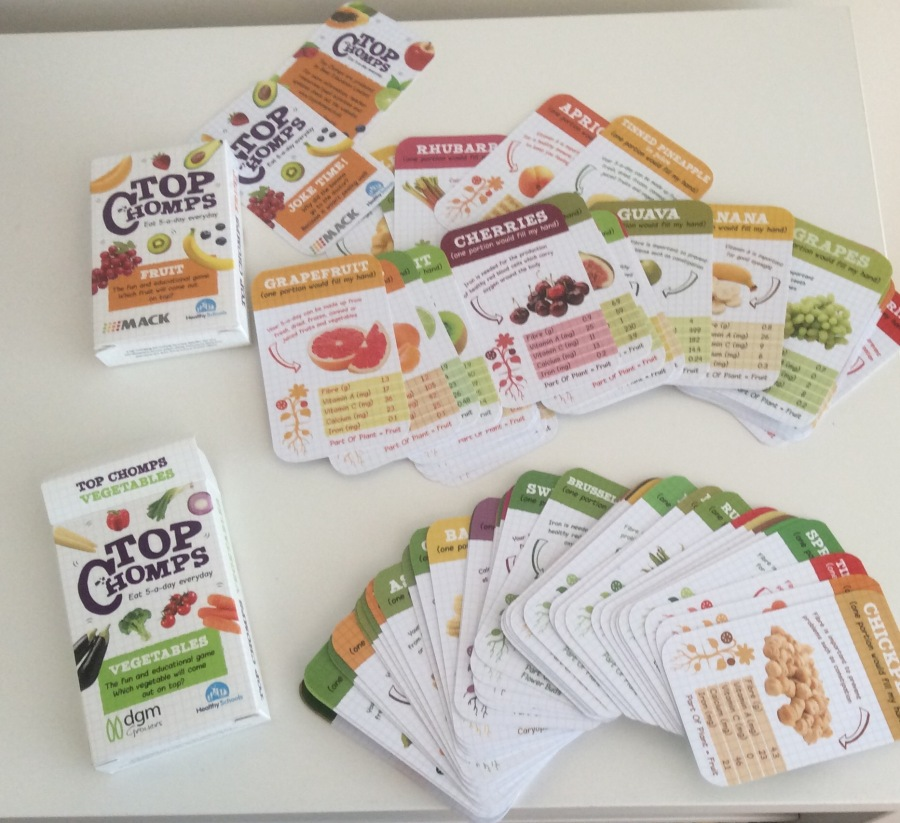 Top Chomps –  engaging ways to teach about five a day.