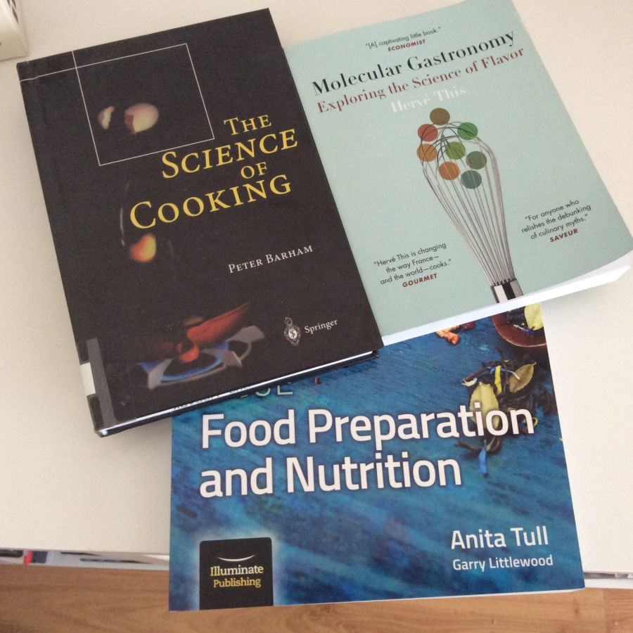 Summer reading in preparation for the new Food Preparation and Nutrition GCSE